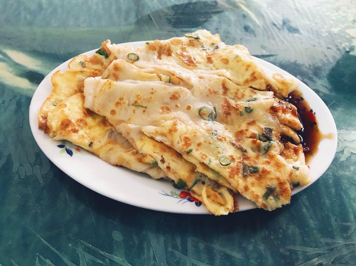 新豐美食|望月亭早餐-傳統米糊蛋餅