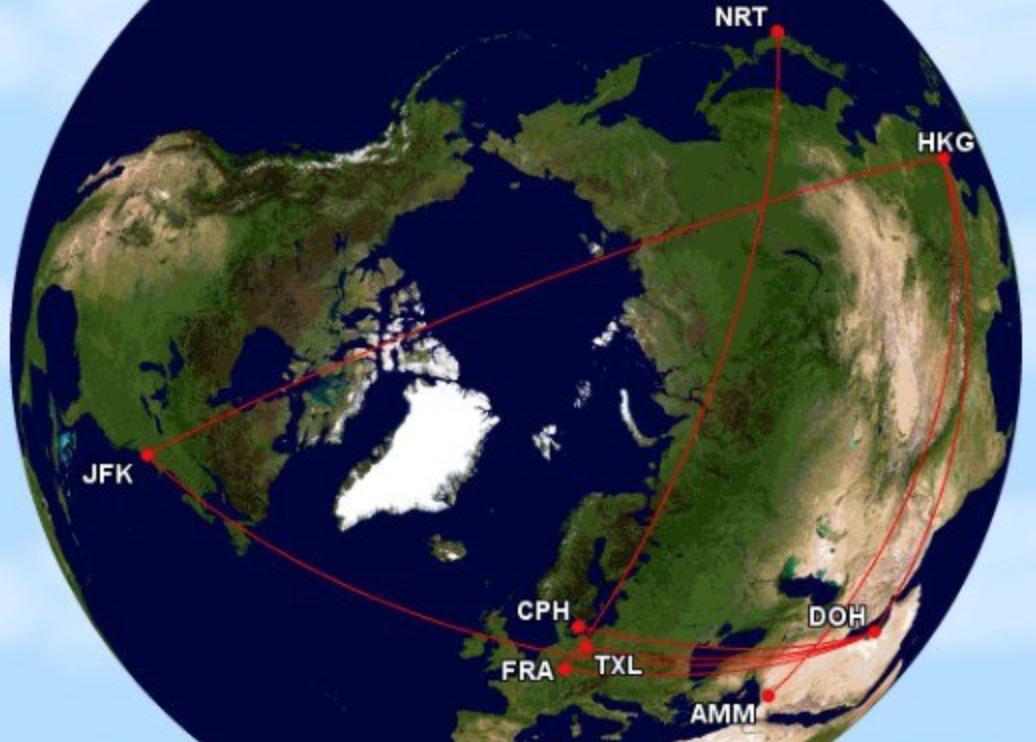 亞洲萬里通 環球票開票工具懶人包 22萬哩商務艙環球開票小分享AM-OW 