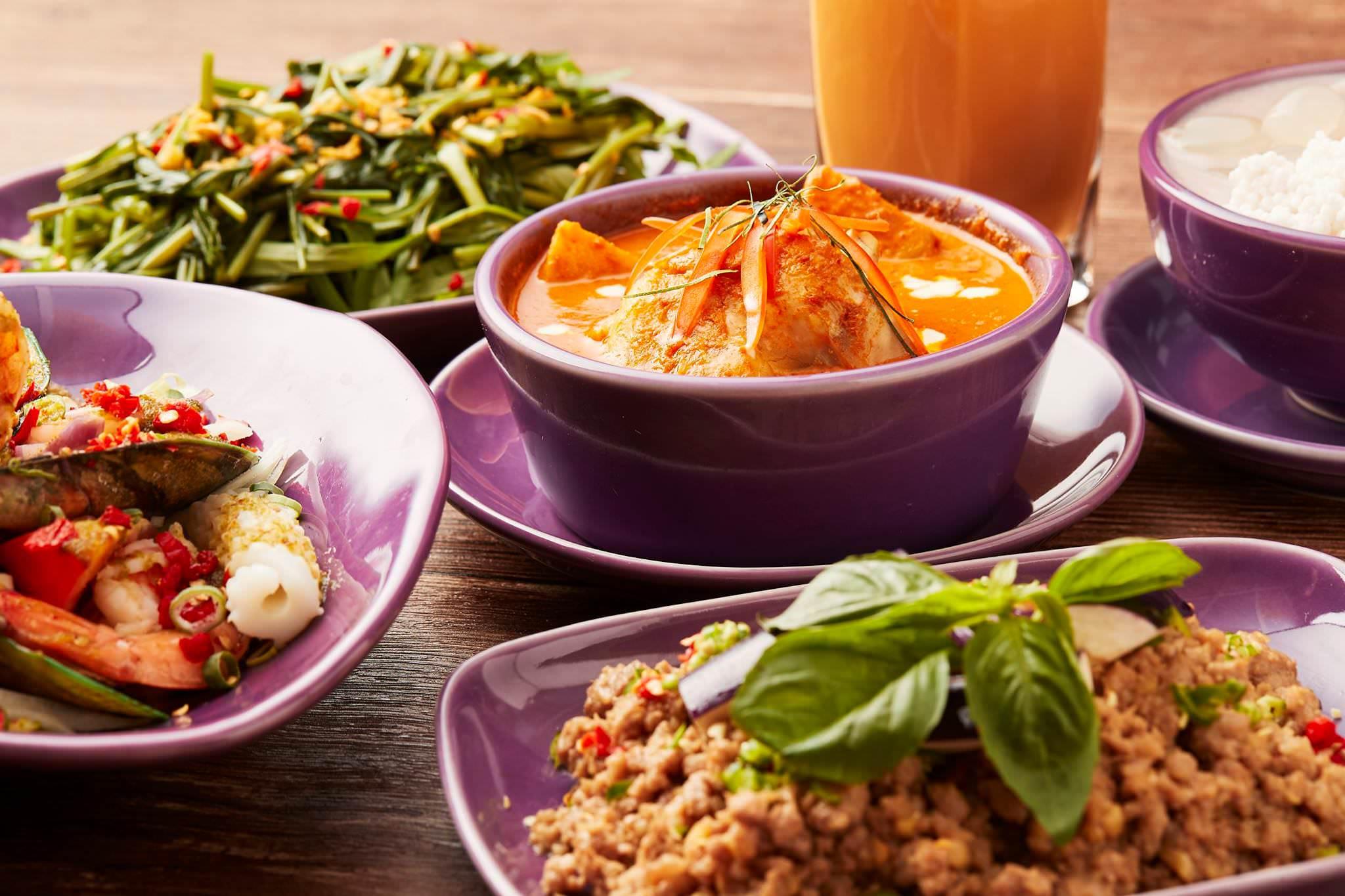 新竹美食|號稱泰國最強泰菜 NARA Thai Cuisine新竹巨城SOGO店