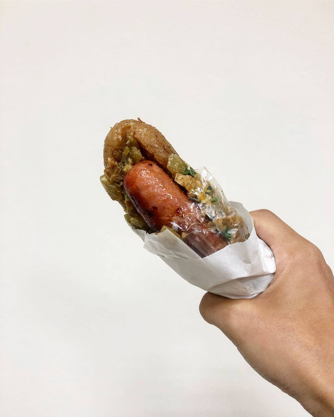 湖口美食|大腸包小腸,老闆堅持炭火與手工製作用心的大腸包小腸