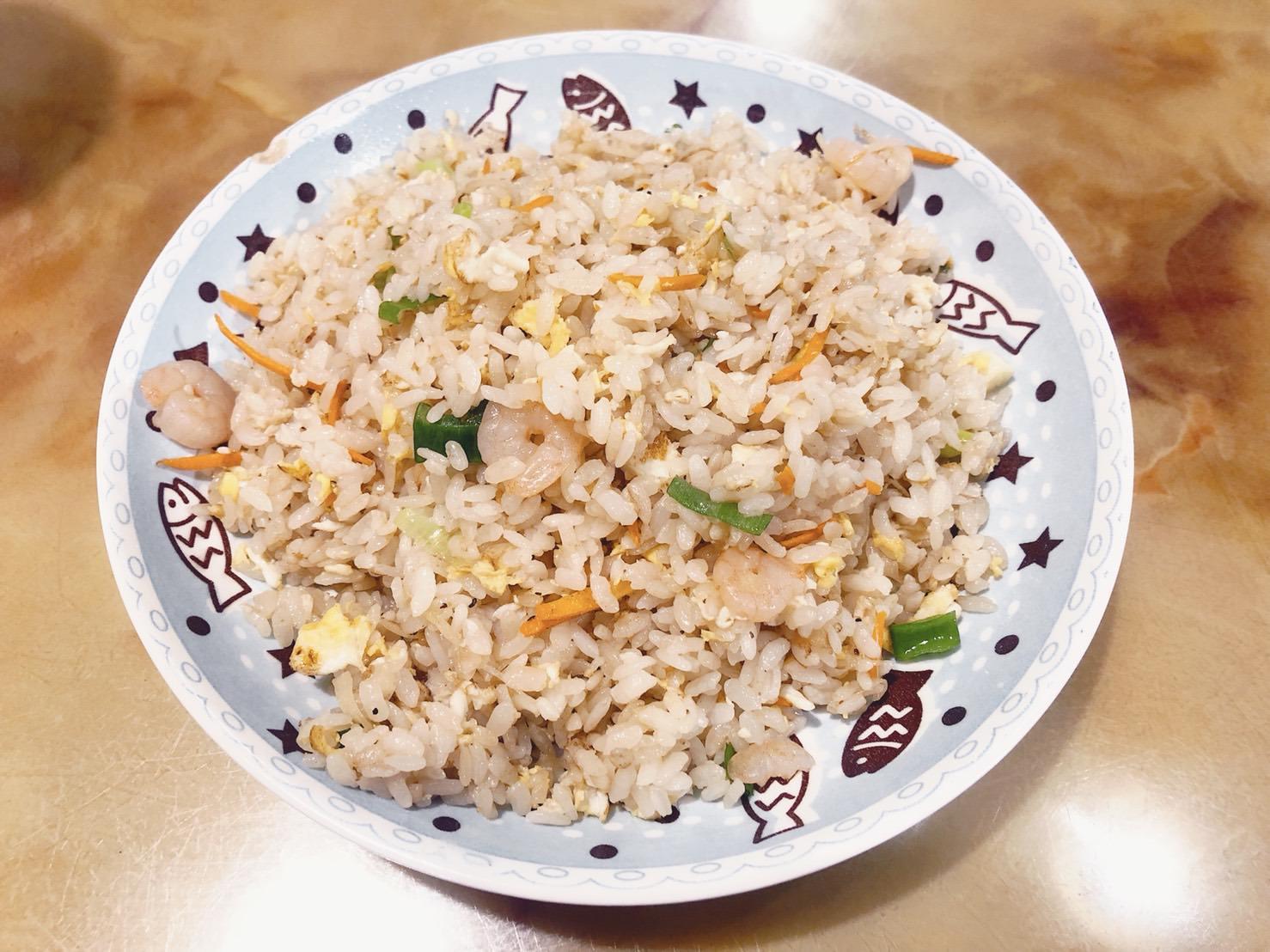 新豐美食|馥懋小吃-新豐最美味的金黃蛋炒飯