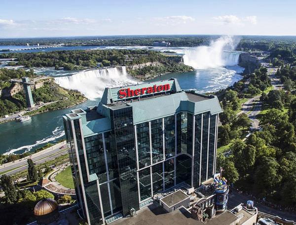 加拿大Canda | 喜來登尼加拉瀑布飯店 Sheraton on the Falls Hotel|2018秋尼加拉瀑布住宿