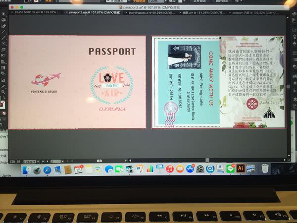 【Okinawa🌺Wedding Invitation】👉🏻自己喜帖自己做- 沖繩海外喜帖邀請函💍