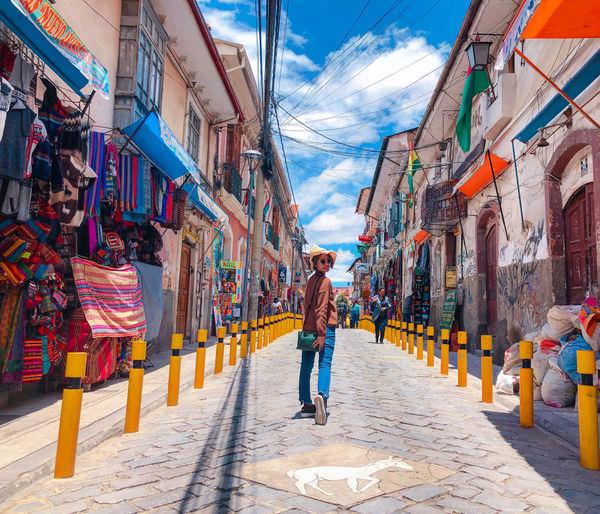 玻利維亞Bolivia|拉巴斯La Paz市區一日遊記,纜車、巫婆街(2018.02)
