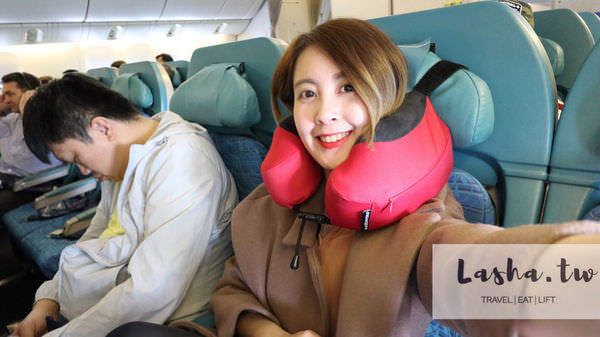 旅遊好物|全新升級Cabeau S3 頸枕讓你搭飛機好眠不落枕