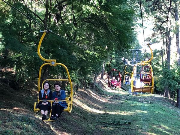 韓國光州|無等山.吊椅式纜車+單軌列車(무등산 리프트+모노레일)