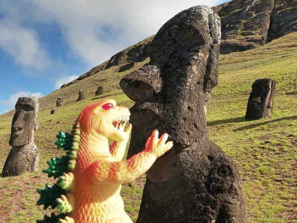 復活節島Rapa Nui  必去七大景點-走吧我們來去復活節島補獲野生摩艾吧!